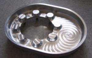 Usinée CNC 1 pièce puisard en aluminium pour une protection supplémentaire contre la corrosion dans des endroits du réservoir d'usure.